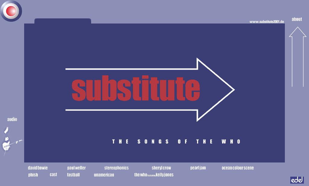 Substitute 2001