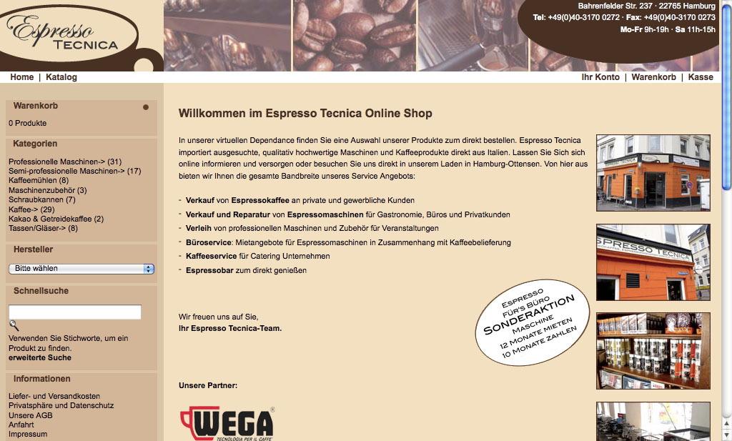 Espresso Tecnica 2004