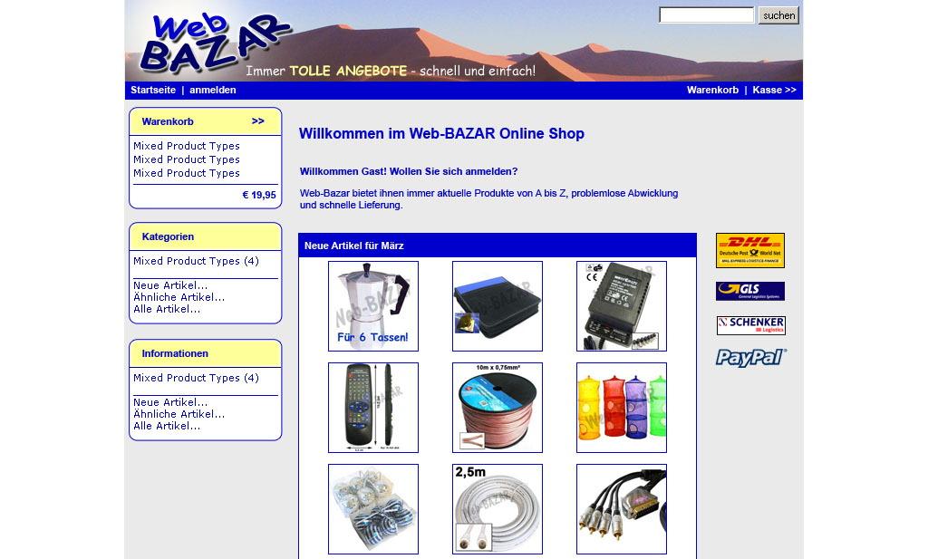 Web-BAZAR