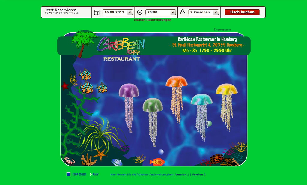 Caribbean Restaurant Roatan