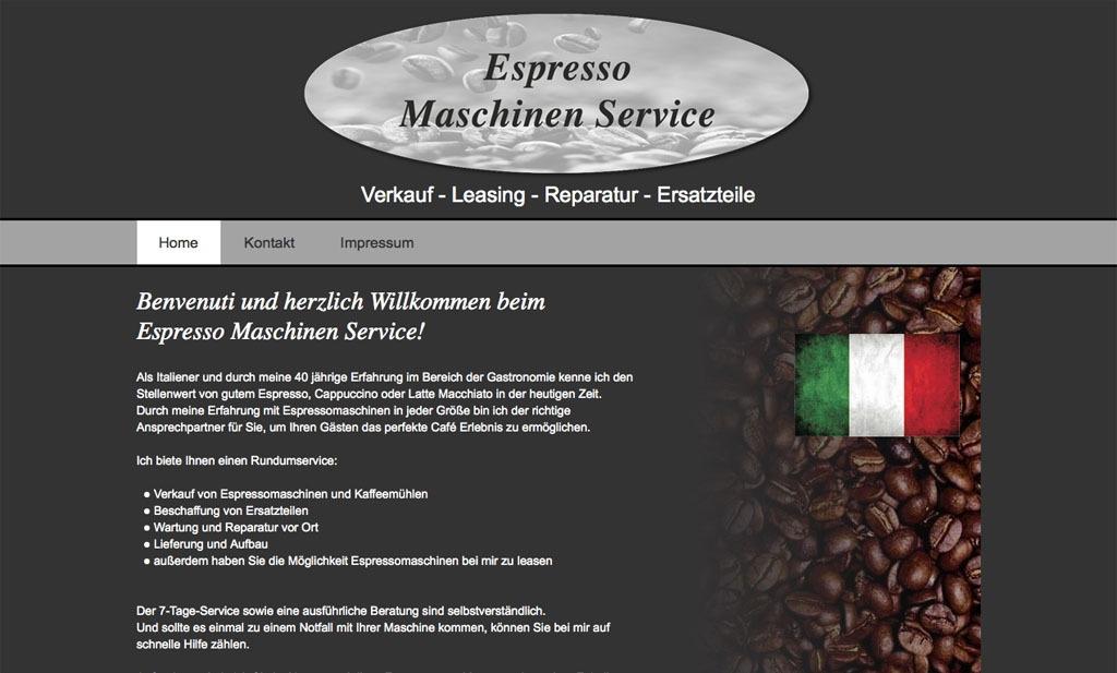 Espresso Maschinen Service